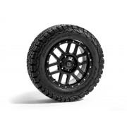 Jante Hawke Dakar Matt Black 8x18 ET20