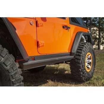Protection de bas de caisse Jeep Wrangler JL 2018- 2 portes
