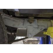 Traverse a l'avant de la lame arrière Jeep Wrangler YJ 1987-1995