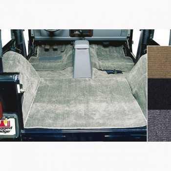 Tapis moquette de luxe gris Jeep CJ et Wrangler YJ 1976-1995