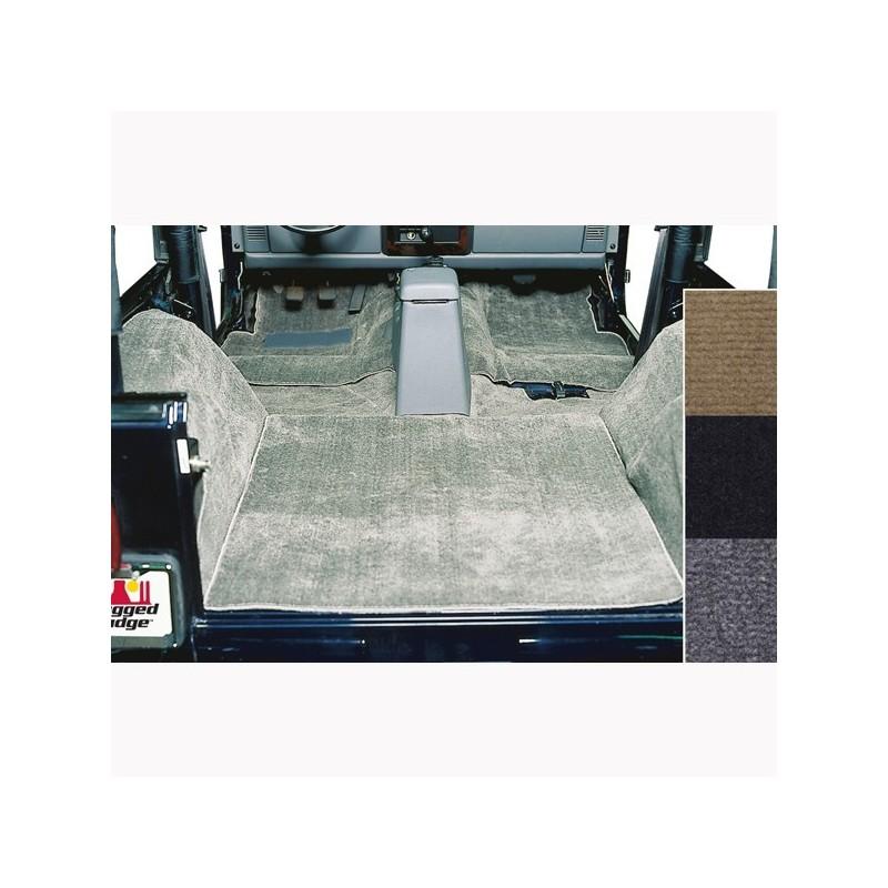 Tapis moquette de luxe gris jeep wrangler tj 97 06 cash for Moquette jeep wrangler yj