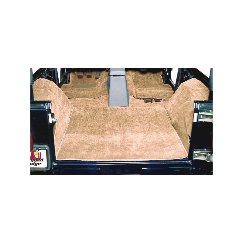 Tapis moquette de luxe brun jeep wrangler yj 87 95 cash for Moquette jeep wrangler yj