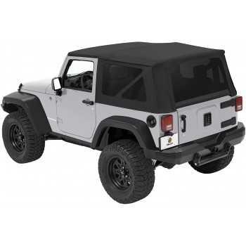 Capotage Supertop® BESTOP noir jeep Wrangler JK 2007-2018 2 portes