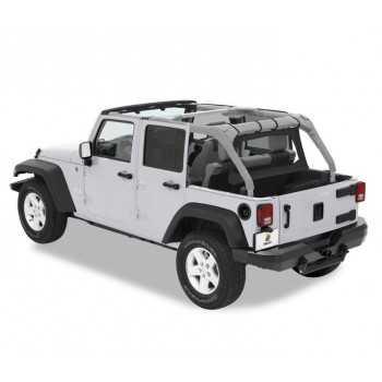 Windjammer Bestop® noir Jeep Wrangler JK 2007-2018 4 portes