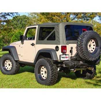 Capotage de remplacement kaki Jeep Wrangler JK 2007-2009 4 portes