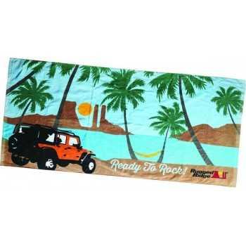 Serviette de plage Jeep Wrangler