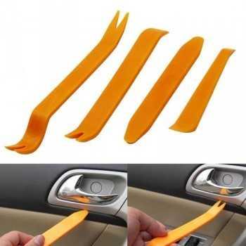 Jeu de 4 outils pour tableau de bord couleur orange
