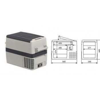 GLACIERE A COMPRESSEUR COOLFREEZE CF40 37 Litres