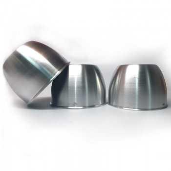 Cache moyeu fermé Aluminium poli diamètre 95mm