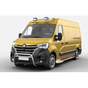 Medium bar inox Renault Master 2019-