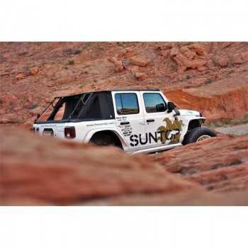 SUNTOP® TOP + CARGO U4 Jeep Wrangler JL couleur black diamond