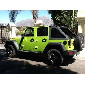 Bache suntop ultimate noir Jeep Wrangler JK 2007-2018 4 portes