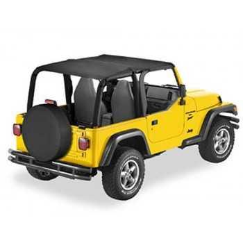 Bikini® Tops SAFARI noir Jeep Wrangler TJ 1996-2002