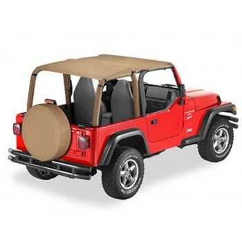 Bikini® Tops SAFARI beige Jeep Wrangler TJ 1996-2002
