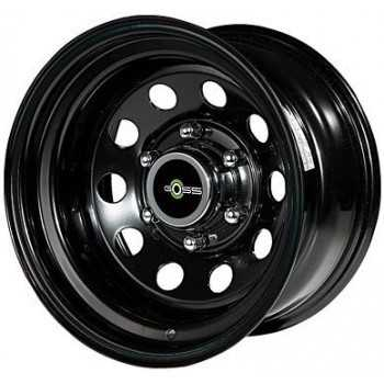 Jante acier modular noire 8X15 Toyota-Nissan-Mitsubishi