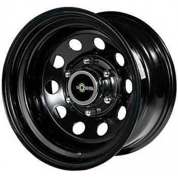 Jante acier modular noire 10X15 Toyota-Nissan-Mitsubishi