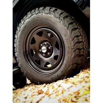 Jante acier noire 7X15 Toyota Hilux Revo Déport ET20