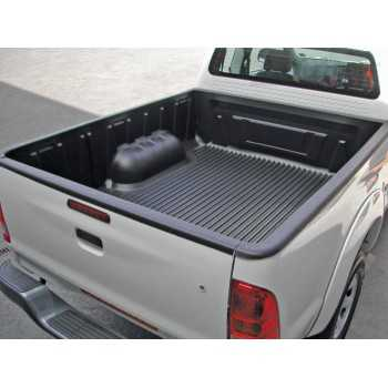 Bac de benne avec rebords Nissan Navara D40 king cab 2005-2015