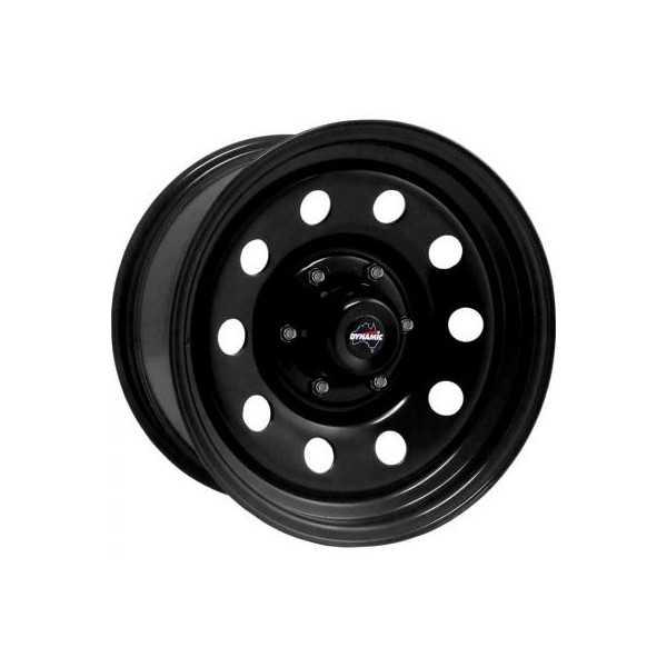 Jante acier dynamic noire 7X15 Toyota Hilux Vigo 2006-2011
