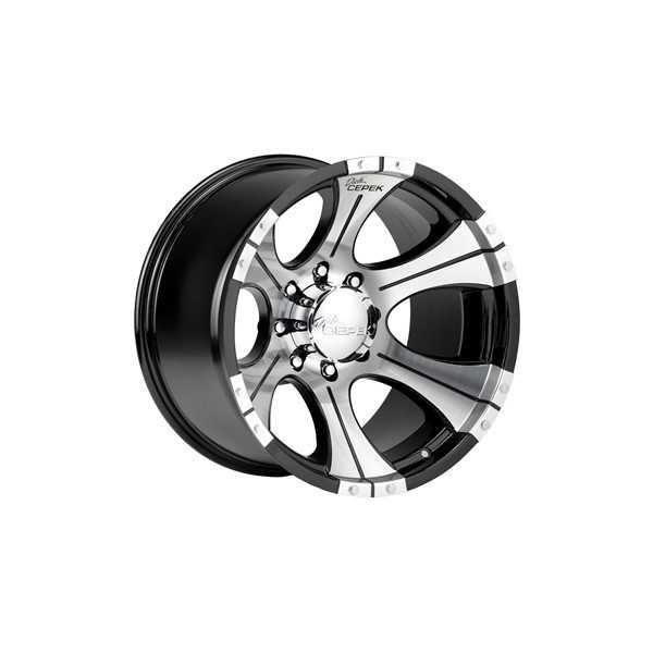 Jante DICK CEPECK 2 noir 9 X20 Toyota-Nissan-Mitsubishi