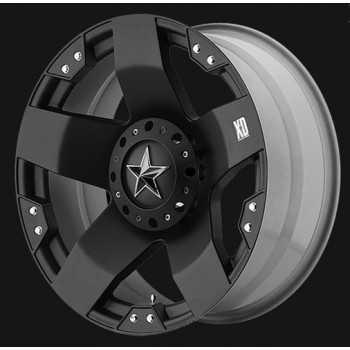 Jante XD775 Rockstar black 8X17 Jeep Wrangler JK