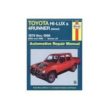 REVUE AUTOMOBILE HAYNES HILUX (79-96)