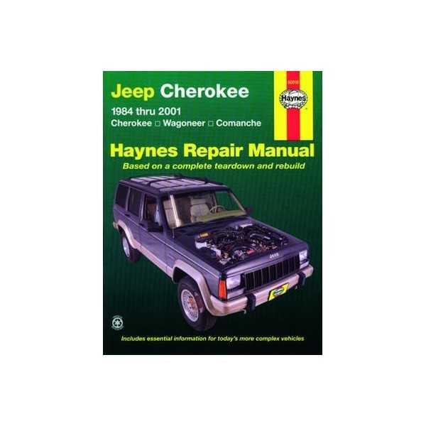 Revue automobile haynes Jeep Cherokee(84-01)