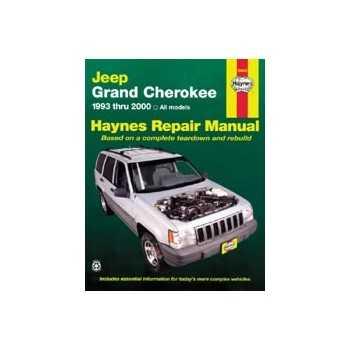 Revue automobile HAYNES Jeep grand Cherokee (93-00)