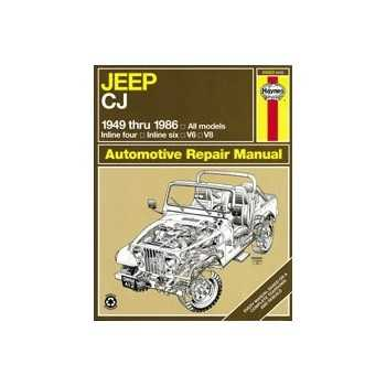 REVUE AUTOMOBILE HAYNES JEEP CJ (49-86)