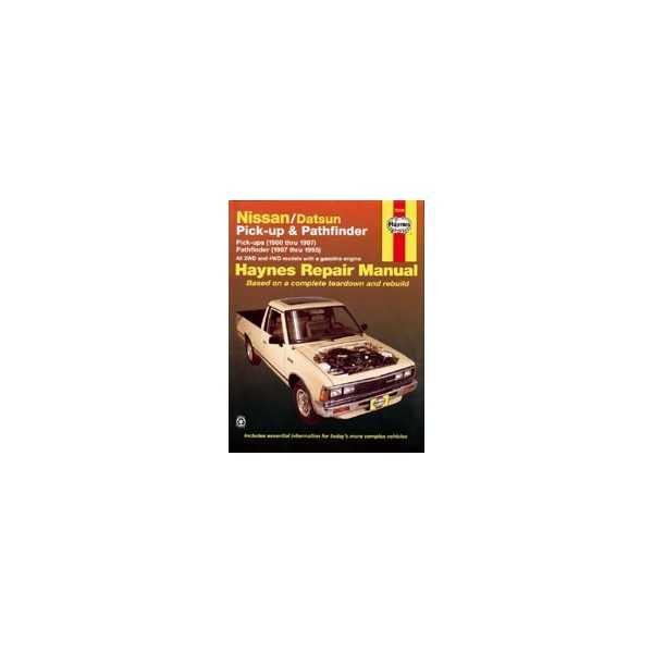 Revue automobile Haynes Nissan Terrano-King Cab (80-97)