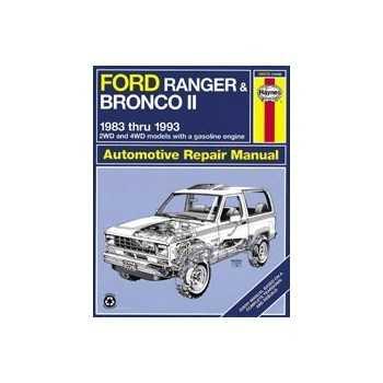 Revue automobile HAYNES Ford Bronco (83-93)