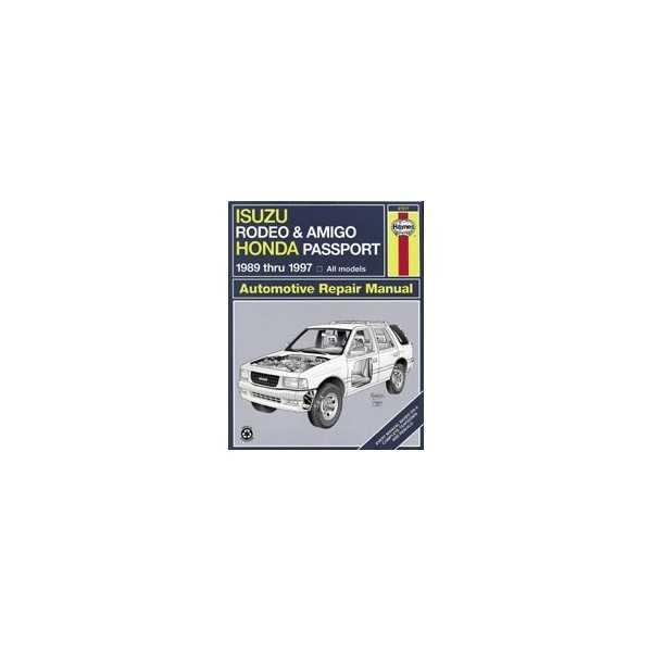 Revue automobile HAYNES Isuzu (89-97)