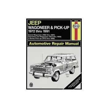 Revue automobile HAYNES JEEP WAGONEER & PICK-UP (72-91)