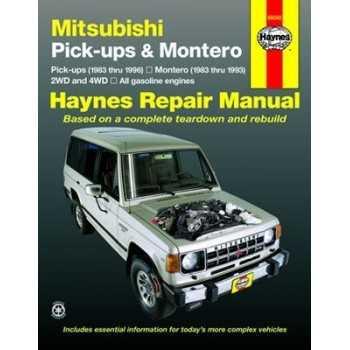REVUE AUTOMOBILE HAYNES L 200 (83-96)-PAJERO (83-93)