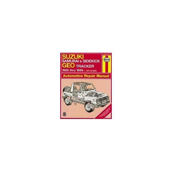 REVUE AUTOMOBILE HAYNES SAMOURAI-VITARA (86-01)