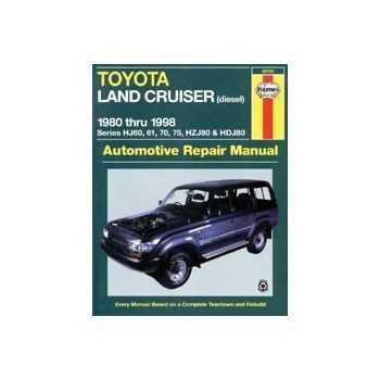 REVUE AUTOMOBILE HAYNES TOYOTA HDJ 80-HJ60-61-75-71 (80-98)