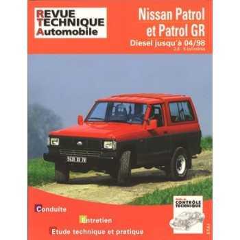 REVUE TECHNIQUE NISSAN PATROL ET PATROL GR 89-98