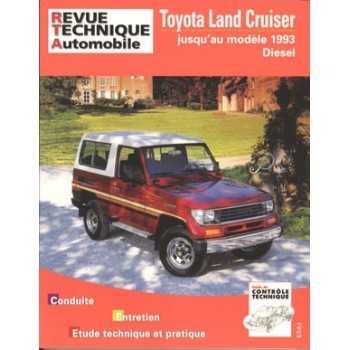 Revue technique Toyota LJ 70-73  85-93
