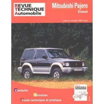 Revue technique Mitsubishi Pajero diesel 1983-1992