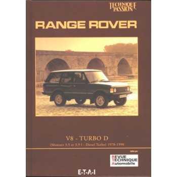 MANUEL D'ATELIER RANGE ROVER V8 TURBO D 70-90