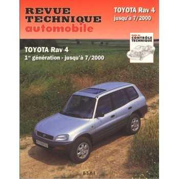 REVUE TECHNIQUE TOYOTA RAV 4 JUSQU'A 07-00