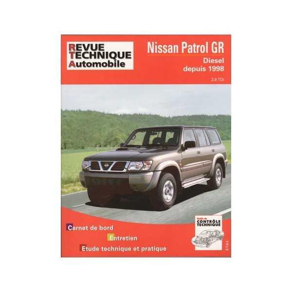 Revue technique Nissan Patrol GR Y61 2L8