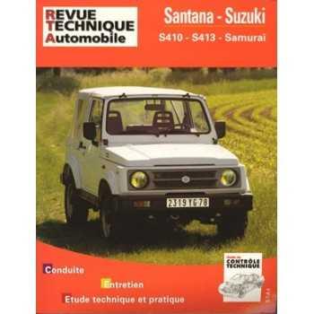 REVUE TECHNIQUE SUZUKI SANTANA 410-413