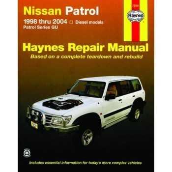 Revue automobile HAYNES NISSAN GR Y61 1998-2011 2L8-3L