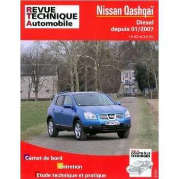 REVUE TECHNIQUE NISSAN QASHQAI 1,5 L DCI ET 2.0 L DCI 01-2007-