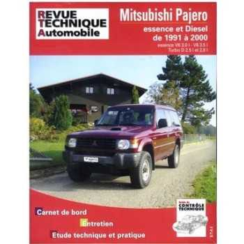 Revue technique Mitsubishi Pajero diesel 1991-2000