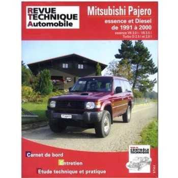 REVUE TECHNIQUE MITSUBISHI PAJERO DIESEL 91-2000
