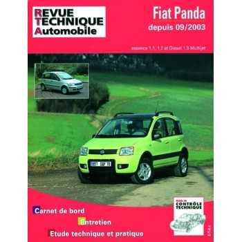 REVUE TECHNIQUE FIAT PANDA ET 4X4