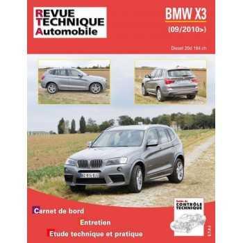 REVUE TECHNIQUE BMW X3 DIESEL 20D 184 CH 09-2010