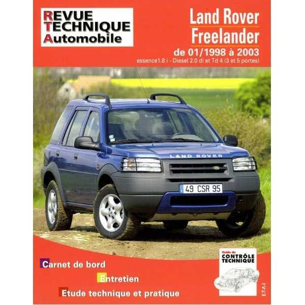 REVUE TECHNIQUE FREELANDER 01-1998-2003